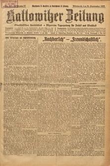 Kattowitzer Zeitung, 1925, Jg. 57, nr223