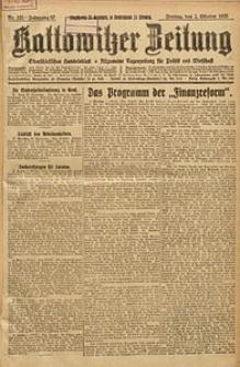 Kattowitzer Zeitung, 1925, Jg. 57, nr225