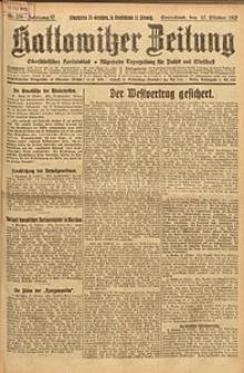 Kattowitzer Zeitung, 1925, Jg. 57, nr238