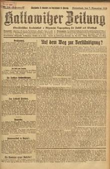 Kattowitzer Zeitung, 1925, Jg. 57, nr256