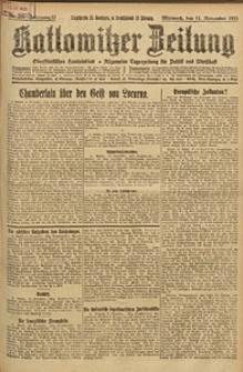 Kattowitzer Zeitung, 1925, Jg. 57, nr259