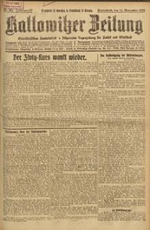 Kattowitzer Zeitung, 1925, Jg. 57, nr262