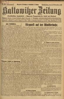 Kattowitzer Zeitung, 1925, Jg. 57, nr266