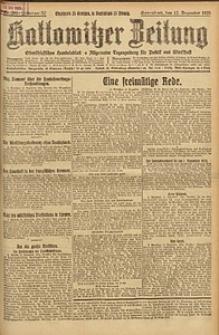 Kattowitzer Zeitung, 1925, Jg. 57, nr285