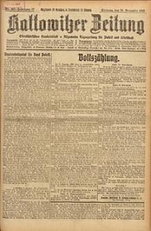 Kattowitzer Zeitung, 1925, Jg. 57, nr292
