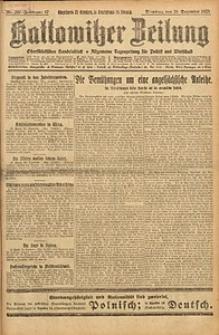 Kattowitzer Zeitung, 1925, Jg. 57, nr297