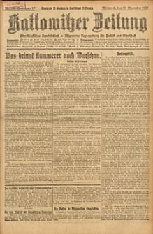 Kattowitzer Zeitung, 1925, Jg. 57, nr298