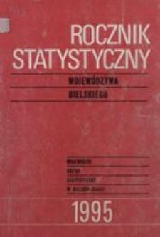 Rocznik Statystyczny Województwa Bielskiego, 1995, R. 20