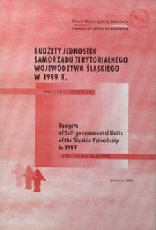 Budżety jednostek samorządu terytorialnego województwa śląskiego w 1999 r.