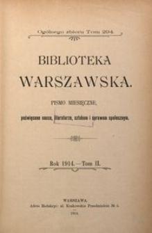 Biblioteka Warszawska, 1914, T. 2