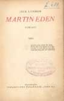 Martin Eden : powieść. T. 2.