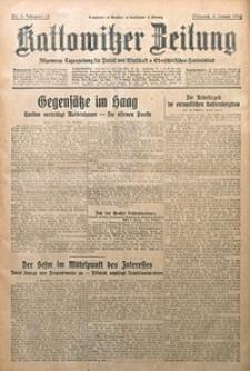 Kattowitzer Zeitung, 1930, Jg. 62, nr5