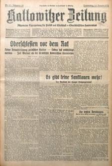 Kattowitzer Zeitung, 1930, Jg. 62, nr12