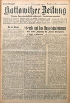 Kattowitzer Zeitung, 1930, Jg. 62, nr20
