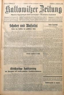 Kattowitzer Zeitung, 1930, Jg. 62, nr29