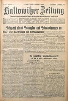 Kattowitzer Zeitung, 1930, Jg. 62, nr30