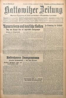 Kattowitzer Zeitung, 1930, Jg. 62, nr32