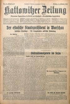 Kattowitzer Zeitung, 1930, Jg. 62, nr33