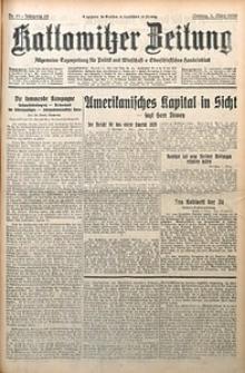 Kattowitzer Zeitung, 1930, Jg. 62, nr51