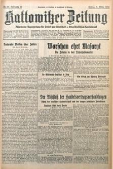 Kattowitzer Zeitung, 1930, Jg. 62, nr55