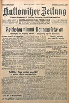 Kattowitzer Zeitung, 1930, Jg. 62, nr60