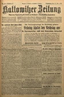 Kattowitzer Zeitung, 1930, Jg. 62, nr163