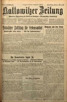 Kattowitzer Zeitung, 1930, Jg. 62, nr175