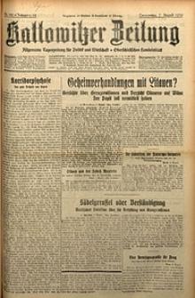 Kattowitzer Zeitung, 1930, Jg. 62, nr181