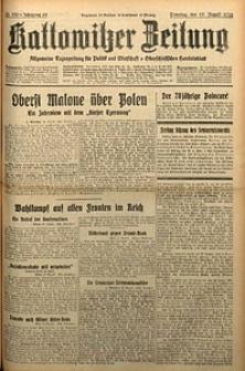 Kattowitzer Zeitung, 1930, Jg. 62, nr190
