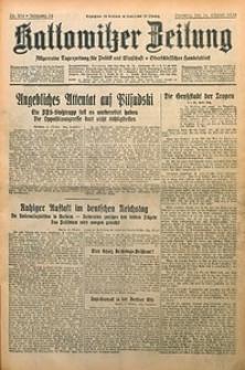 Kattowitzer Zeitung, 1930, Jg. 62, nr238