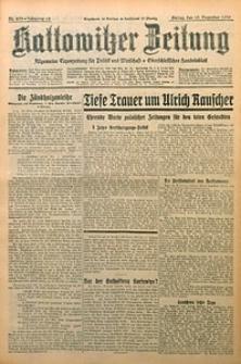 Kattowitzer Zeitung, 1930, Jg. 62, nr293