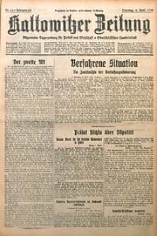 Kattowitzer Zeitung, 1930, Jg. 62, nr82