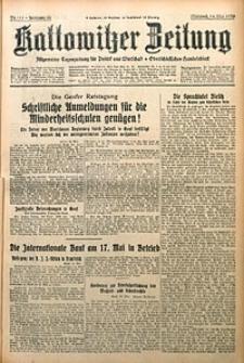 Kattowitzer Zeitung, 1930, Jg. 62, nr111