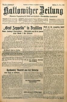 Kattowitzer Zeitung, 1930, Jg. 62, nr119