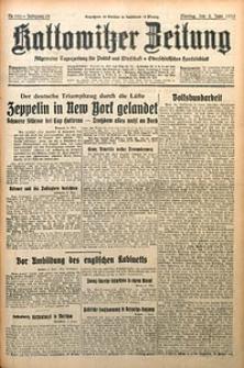 Kattowitzer Zeitung, 1930, Jg. 62, nr126
