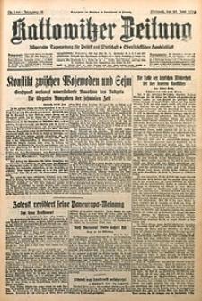 Kattowitzer Zeitung, 1930, Jg. 62, nr144