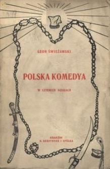 Polska komedya. W 4 działach
