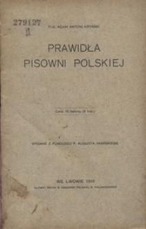 Prawidła pisowni polskiej