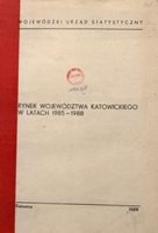 Rynek województwa katowickiego w latach 1985-1988