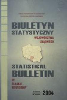 Biuletyn Statystyczny Województwa Śląskiego, 2004, 4 kwartał