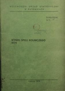 Wyniki Spisu Rolniczego 1979