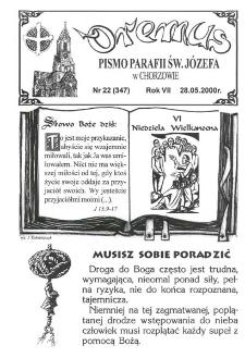 Oremus, R. 7, nr 22 (347), 2000
