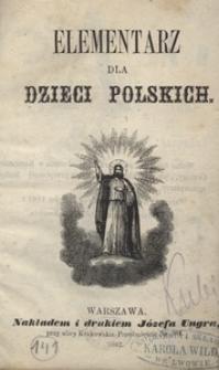 Elementarz dla dzieci polskich