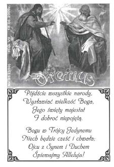 Oremus, R. 7, nr 25 (350), 2000