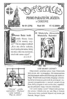 Oremus, R. 7, nr 51 (376), 2000