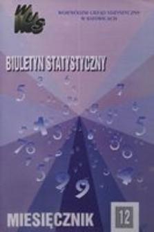 Biuletyn Statystyczny. Miesięcznik, 1994, nr 12