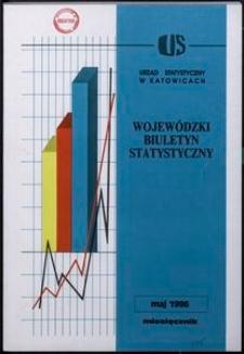 Wojewódzki Biuletyn Statystyczny, 1996, nr 5