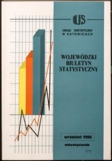 Wojewódzki Biuletyn Statystyczny, 1996, nr 9