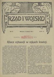Rząd i Wojsko 1919, nr 40/41