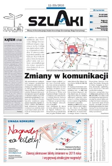 Szlaki, R. 5, nr 11 (33), 2010